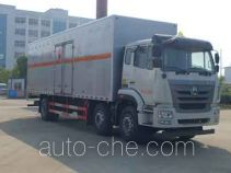 Zhongqi Liwei HLW5250XRY5ZZ flammable liquid transport van truck