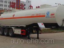 Zhongqi Liwei HLW9400GRYA flammable liquid tank trailer