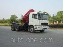 CAMC Star HN5250JQQP38C6M3 tractor unit mounted loader crane