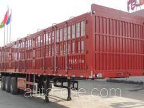 辉煌鹏达牌HPD9406CCY型仓栅式运输半挂车