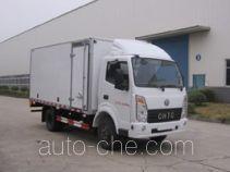 楚风牌HQG5051XXYEV型纯电动厢式运输车