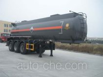 CHTC Chufeng HQG9400GFW corrosive materials transport tank trailer