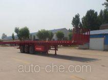 Yuqiantong HQJ9371ZZXP flatbed dump trailer