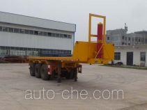 Yuqiantong HQJ9400ZZXP flatbed dump trailer