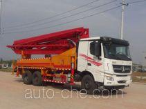 Yuhui HST5320THB concrete pump truck