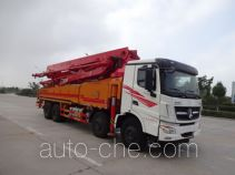 Yuhui HST5400THB concrete pump truck