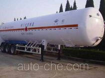 Hongtu HT9400GDYF3 cryogenic liquid tank semi-trailer