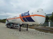 Hongtu HT9400GDYH2 cryogenic liquid tank semi-trailer
