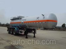 Hongtu HT9400GFW corrosive materials transport tank trailer