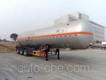 Flammable gas tank trailer