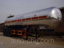 Hongtu HT9400GRY flammable liquid tank trailer