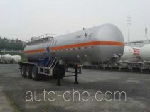 Hongtu HT9400GRY8 flammable liquid tank trailer