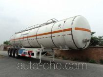 Hongtu HT9401GRY flammable liquid tank trailer