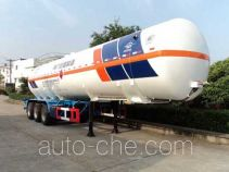 Hongtu HT9402GRY flammable liquid tank trailer