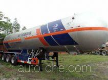 Hongtu HT9407GYQ2C1 liquefied gas tank trailer