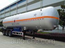 Hongtu HT9408GYQ4C liquefied gas tank trailer