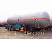 Hongtu HT9408GYQ6 liquefied gas tank trailer