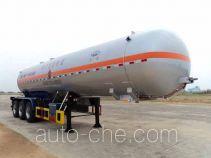 Hongtu HT9408GYQ9 liquefied gas tank trailer