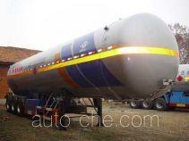 Hongtu HT9409GYQ3C liquefied gas tank trailer