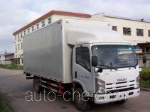 Tongyi HTL5090XXY box van truck