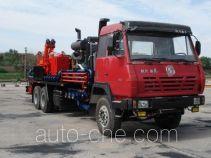 Oil well sanding-up preventing truck