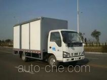 Side opening delivery box van truck