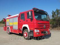 汉江牌HXF5150TXFJY80型抢险救援消防车