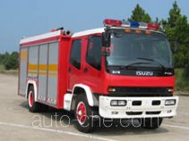 汉江牌HXF5160GXFAP60型A类泡沫消防车