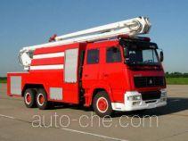 汉江牌HXF5250JXFJP18型举高喷射消防车