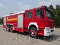 汉江牌HXF5270GXFPM120型泡沫消防车
