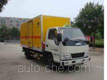 Hongyu (Henan) HYJ5040XRG flammable solid goods transport van truck