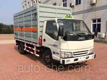 Hongyu (Henan) HYJ5040XRQ flammable gas transport van truck