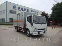Hongyu (Henan) HYJ5040XRQB flammable gas transport van truck