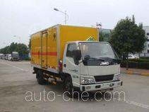 Hongyu (Henan) HYJ5040XRY flammable liquid transport van truck
