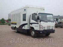 Hongyu (Henan) HYJ5100TLZ mobile road blocker truck