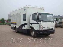 Hongyu (Henan) HYJ5100TLZ mobile road blocker truck