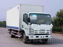 Hongyu (Henan) HYJ5093XXY box van truck