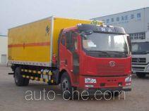 Hongyu (Henan) HYJ5166XQYA explosives transport truck