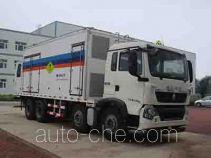 Hongyu (Henan) HYJ5310THR emulsion explosive on-site mixing truck