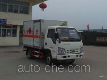 Hongyu (Hubei) HYS5030XRQB4 flammable gas transport van truck