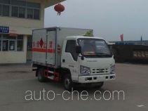 虹宇牌HYS5030XRQB4型易燃气体厢式运输车