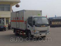 Hongyu (Hubei) HYS5040XRQH4 автофургон для перевозки горючих газов