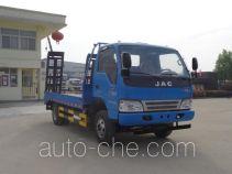 虹宇牌HYS5041TPBH4型平板运输车