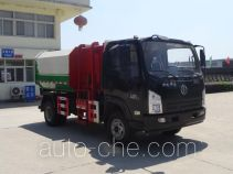 虹宇牌HYS5041ZDJS5型压缩式对接垃圾车
