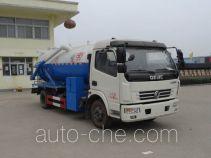 Hongyu (Hubei) HYS5110GXWD4 sewage suction truck