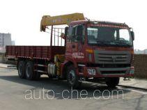 虹宇牌HYS5250JSQ型随车起重运输车