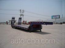 顺运牌HYY9370TDP型低平板运输半挂车