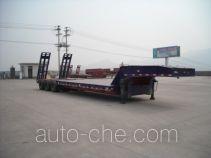 顺运牌HYY9401TDP型低平板运输半挂车