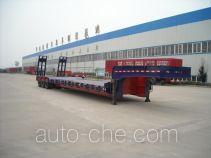 顺运牌HYY9402TDP型低平板运输半挂车
