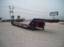 顺运牌HYY9403TDP型低平板运输半挂车